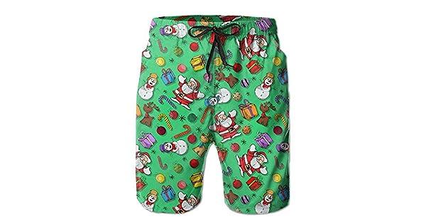Amazon.com: dnupup hombre verano Navidad Santa Claus muñecos ...
