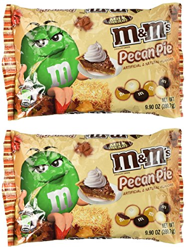 (M&Ms Pecan Pie Limited Edition Fall Milk Chocolate 9.90 Ounce Bag, 2)