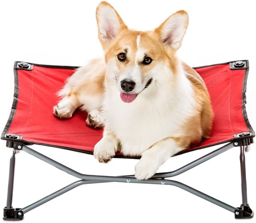 Carlson Pet Products Red Portable Pup Pet Bed