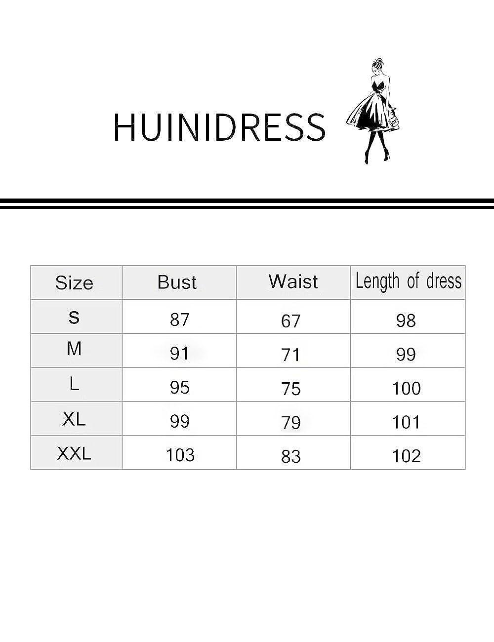 HUINI Vintage Kleid 50er Hahnentritt Kleid Damen 60er Retro ...