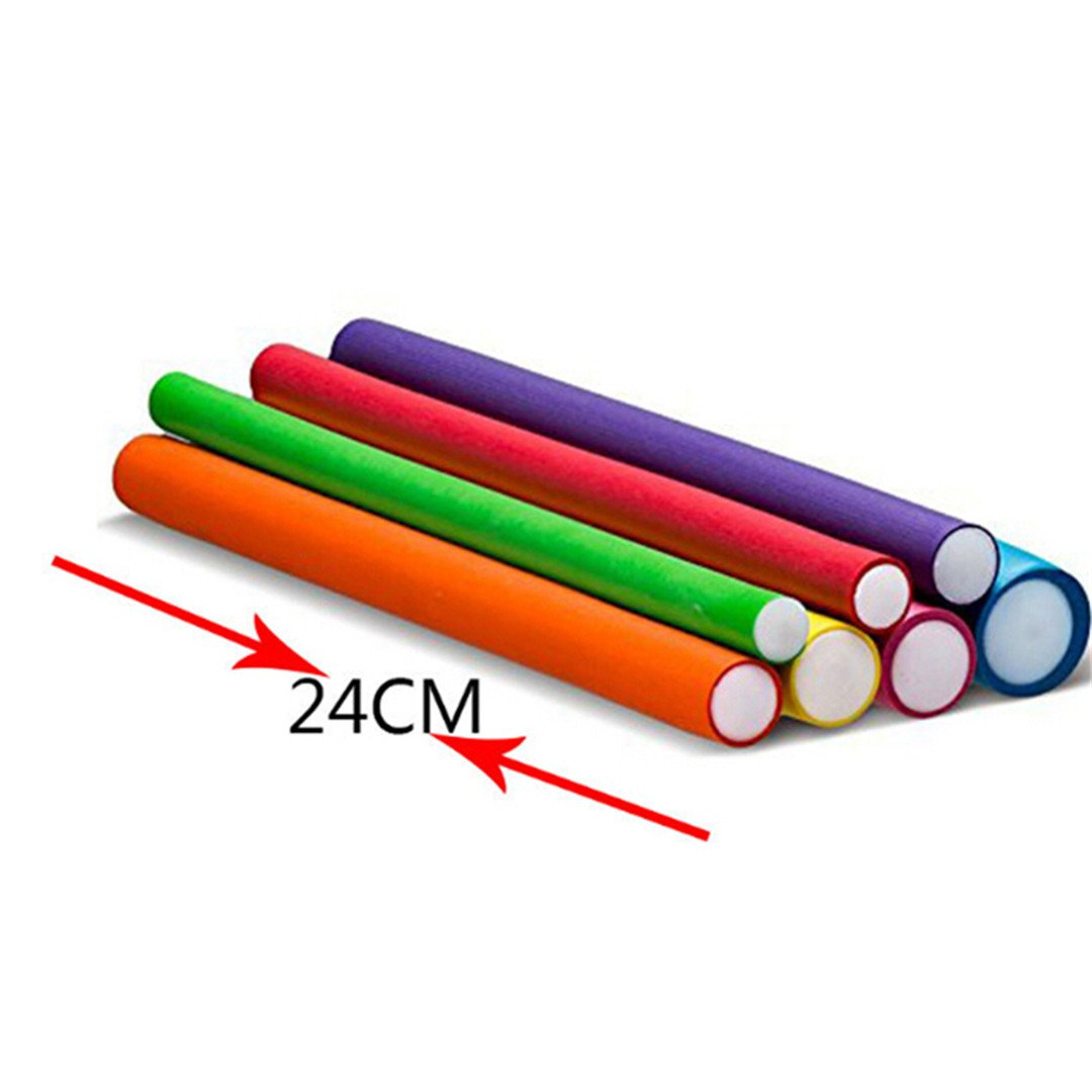 42 Pcs/Set Hair Curler Air Hair Roller Curling Sticks Soft Foam Rods Hair DIY Styling Tool by HAHUHERT (Image #2)