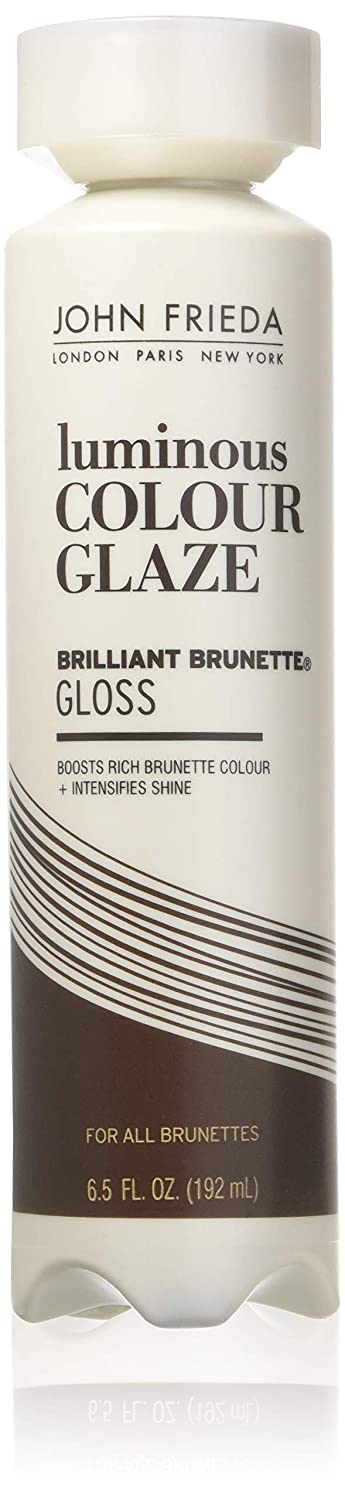 John Frieda Brilliant Brunette Liquid Shine Luminous Color Glaze for All Brunettes for Unisex, 6.5 Ounce U-HC-5396