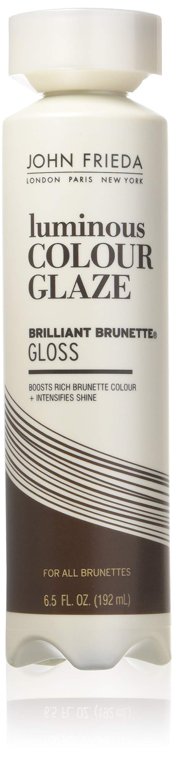 John Frieda Brilliant Brunette Luminous Color Glaze, 6.5 Ounces