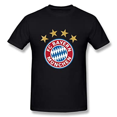 Amazon.com: Munich Logo T Shirts For Men Black: Clothing