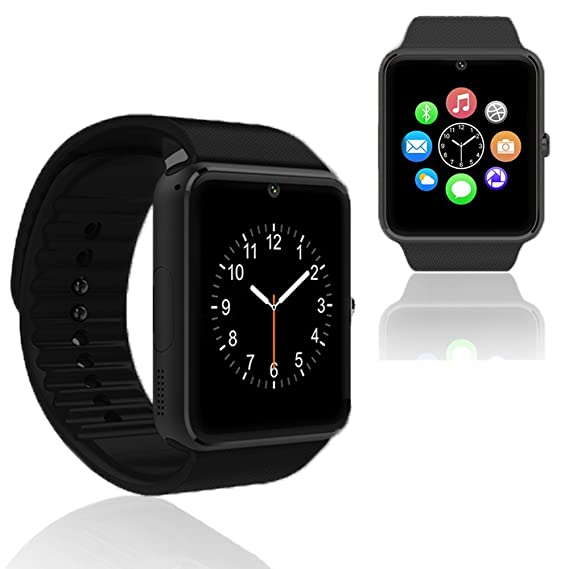 indigi GSM GT8 Unlocked Smart Watch & Phone w/Activity Tracker for iPhone and Android Smartphone