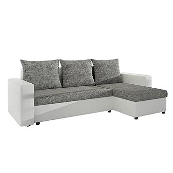 Eckbettsofa mit bettkasten  Ecksofa Top Lux! Sofa Eckcouch Couch! mit Schlaffunktion und zwei ...