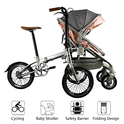 Cochecitos de bebé Bicicleta 2 en 1 Caminata Triciclo ...