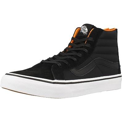 Vans Sk8 hi Slim Zip, Sneaker a Collo Alto Donna: Amazon.it