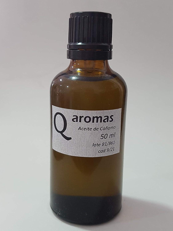 Aceite Vegetal de Semillas de Cáñamo BIO 50 ml - 100% puro, prensado en frío, virgen, certificado ecológico