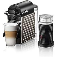 Nespresso Pixie with Aeroccino by Breville- Titan