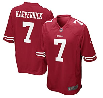 1a5aeafea Amazon.com   Nike San Francisco 49ers Colin Kaepernick 7 Youth Game ...