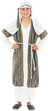 Fun Shack Gris Pastor Disfraz para Niños y Niñas - XL: Amazon.es ...