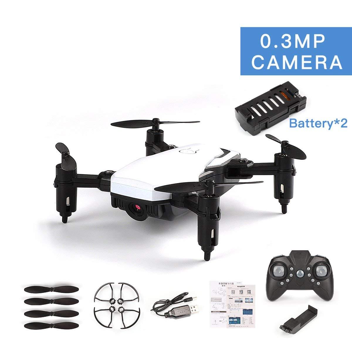 Gugutogo Batterien LF606 Dual-Drone mit 0.3MP Kamera FPV Quadcopter Faltbare RC Drones