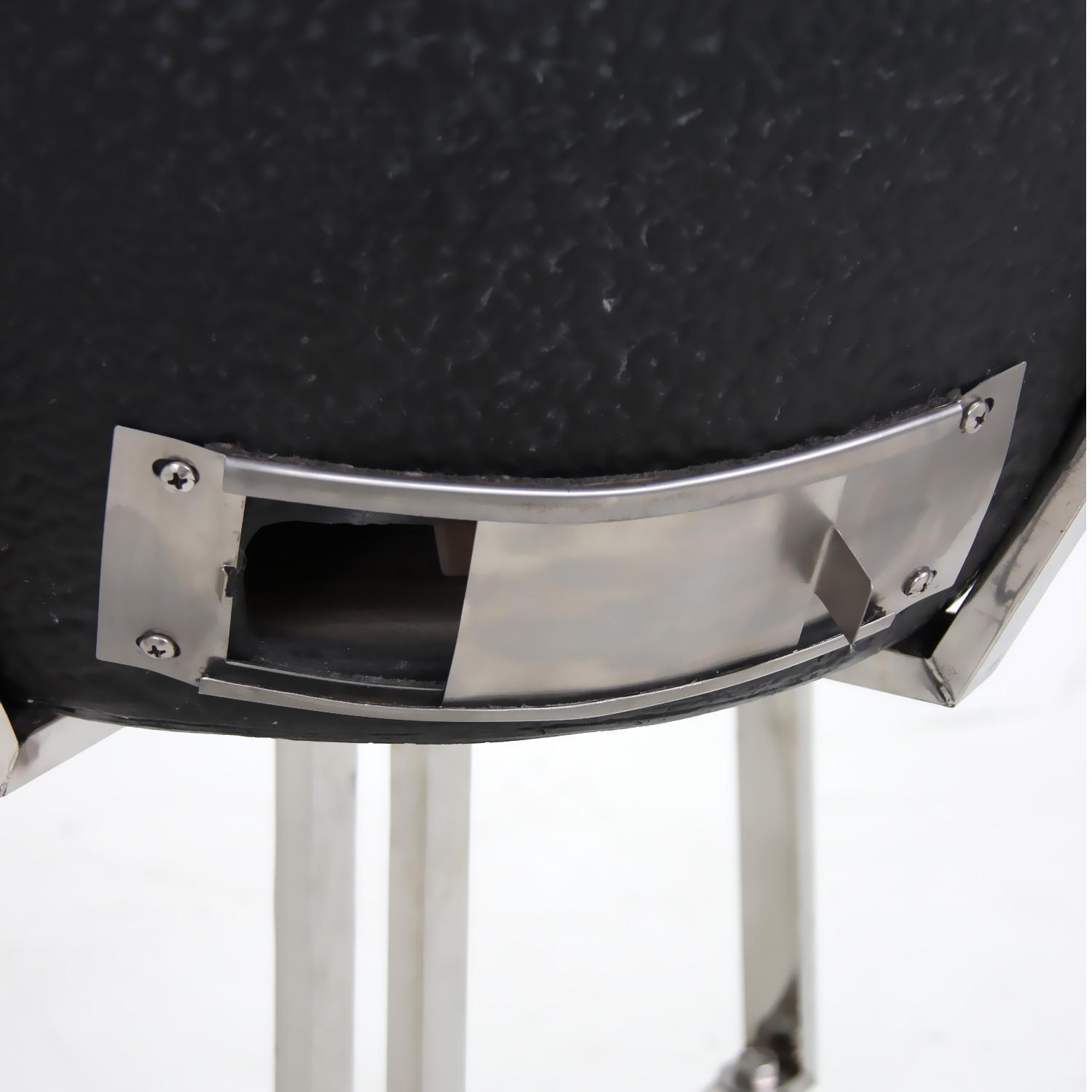 amazon com profire bravo kamado ceramic grill on cart black