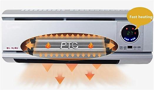 STEAM PANDA 1000w/2000w Bathroom Heater Wall Mounted Downflow Bathroom Fan  Heater Low Wattage Electric