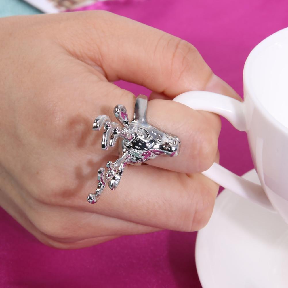 Amazon.com: Sleek and Modern,Vintage Jewelry Deer Rings for Women ...
