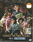 THE THREE MUSKETEERS - COMPLETE KOREAN TV SERIES DVD BOX SET (1-12 EPISODES)