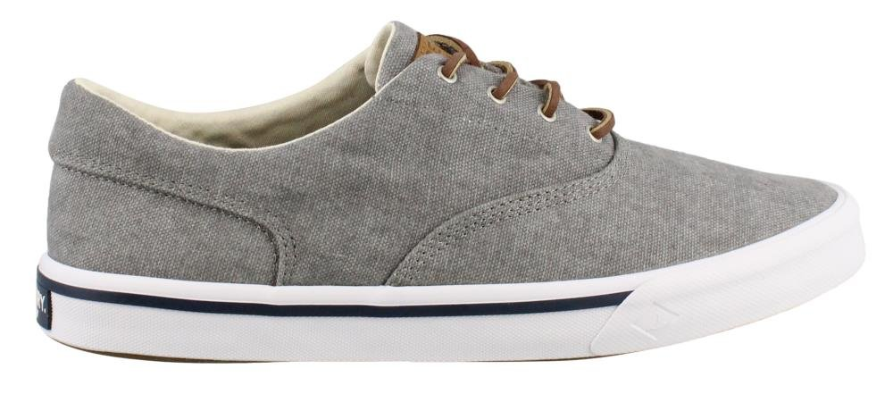 Sperry Top-Sider Men's Striper II CVO Washed Sneaker, Grey, 10 Medium US