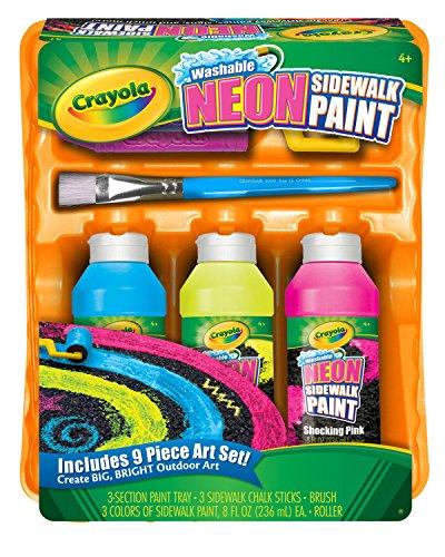 Crayola; Washable Neon Sidewalk