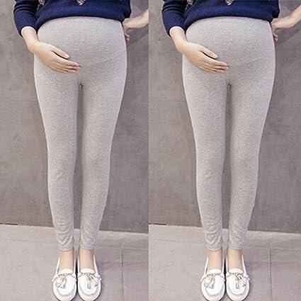 Leggings de maternidad para mujer, de algodón, muy cómodos, para ...