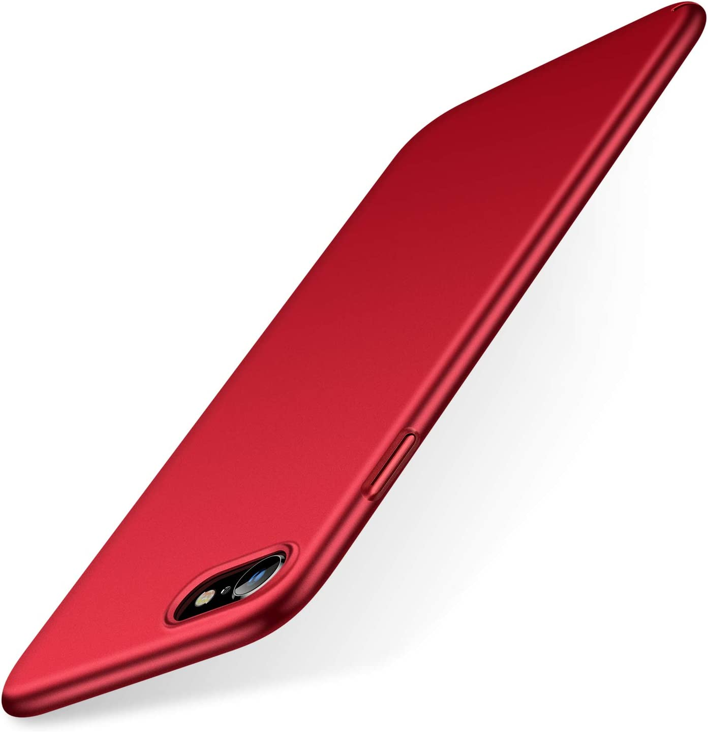 TORRAS Slim Fit iPhone SE 2020 Case/iPhone 7 Case/iPhone 8 Case, Full Protective Anti-Scratch Phone Case Compatible with iPhone SE Case (2nd)/iPhone 7/8, Lucky Red