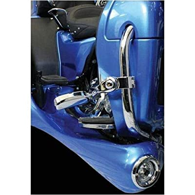 Motor Trike Chrome Accent Rings for Trax Fog Lights MTEL-0153: Automotive