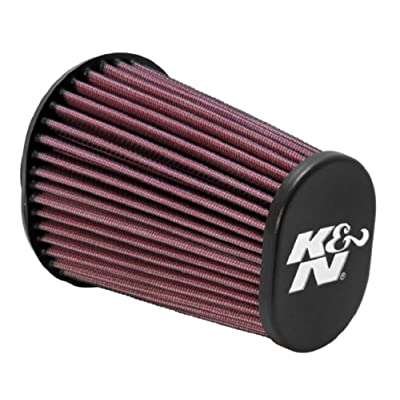 K&N Universal Clamp-On Air Filter: High Performance, Premium, Replacement Engine Filter: Flange Diameter: 2.4375 In, Filter Height: 6 In, Flange Length: 0.625 In, Shape: Oval Straight, RE-0960: Automotive