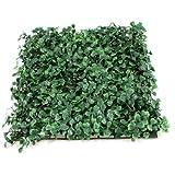 """Uxcell a13060700ux0388 9.8"""" X 9.8"""" Fish Tank Green Plastic Grass Lawn Mat Turf Ornament"""