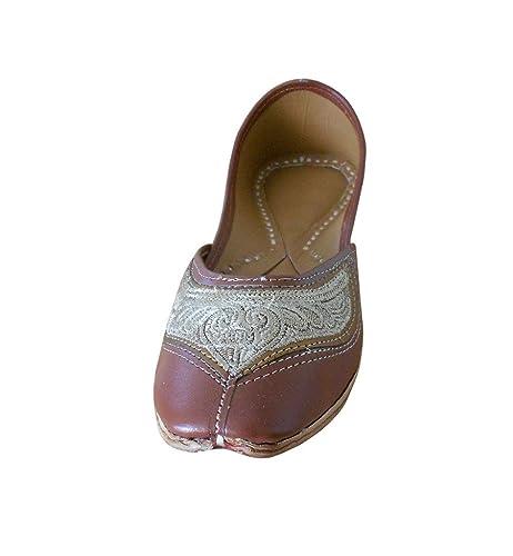 Kalra Creaciones de la Mujer sintético Tradicional India Boda Zapatos: Amazon.es: Zapatos y complementos