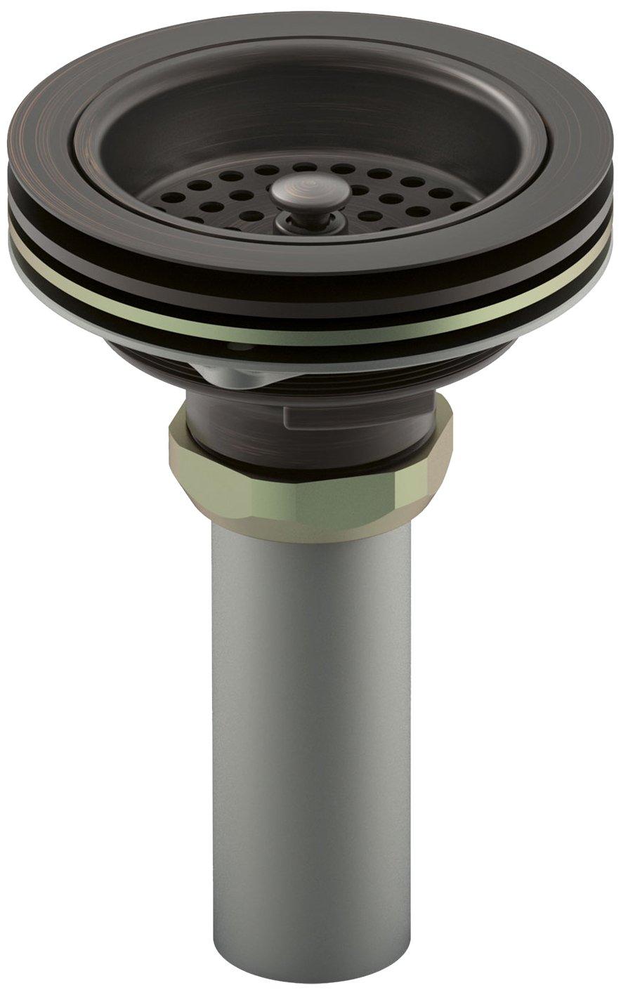 Kohler K-8801-2BZ Duostrainer Sink Strainer, Oil Rubbed Bronze by Kohler