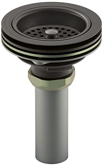 Kohler K 8801 2BZ Duostrainer Sink Strainer, Oil Rubbed Bronze