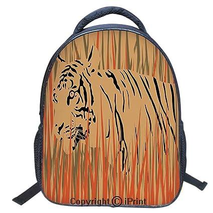 edcc489de9e Designer Original Art Print Casual Backpack,Travel Backpack 16Inch Laptop  Bag,16 inch,