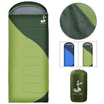 Amazon.com: SilverFox - Saco de dormir con capucha para ...