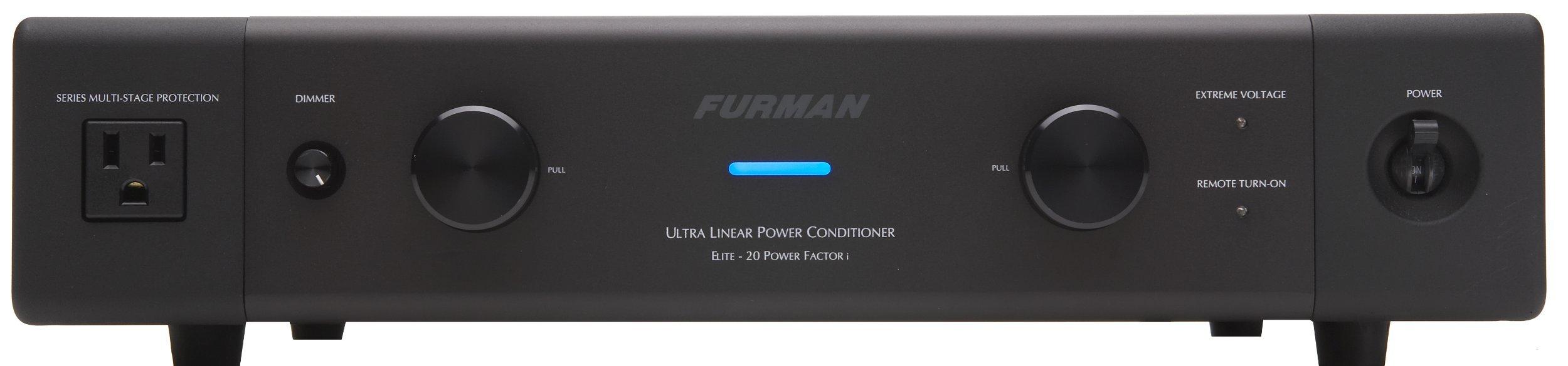 Furman Elite-20 PF i 13-Outlet Ultra Linear AC Power Source (Renewed)