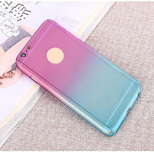 For iphone 6 plus/6s plus,AutumnFall® Luxury Ultra-thin Gradient Shockproof Armor Back Case Cover for iPhone 6S Plus 5.5inch
