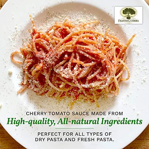Amazon.com : Frantoi Cutrera - Salsa Di Pomodoro Ciliegino - Cherry Tomato Sauce Flavored with Basil - 23.3oz (660g) : Grocery & Gourmet Food