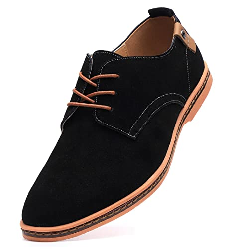 Amazon Dadawen Mens Classic Suede Leather Oxford Dress Shoes