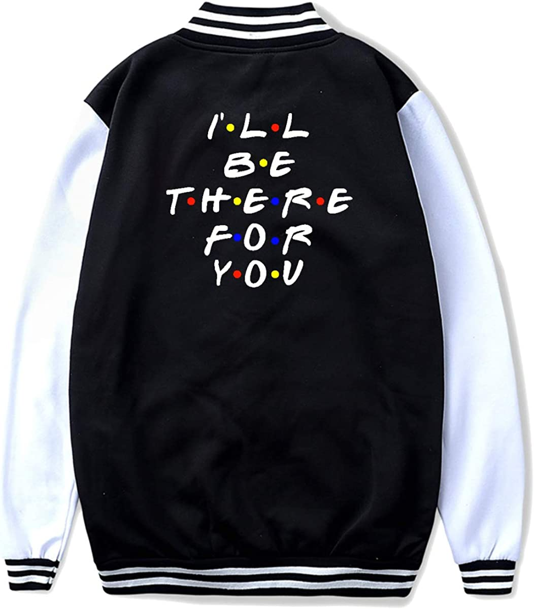 I Wii Be There for You Youth Classic Baseball Uniform Brushed Keep Warm Jackets