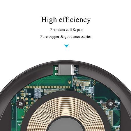 amazon com zyg gg wireless charger ultra thin fast charging pad rh amazon com