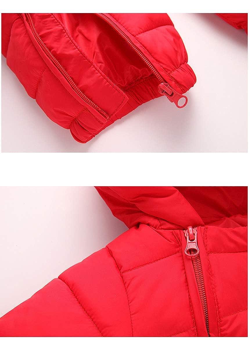 Pink Milkiwai Infant Baby Boy Girl Winter Warm Romper Packable Thick Jumpsuit Snowsuit Size 2T
