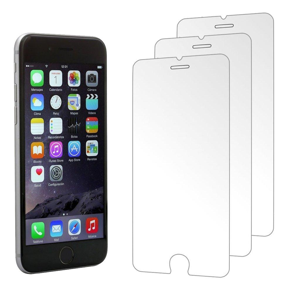 iPhone 7 Plus / 6 Plus / 6S Plusスクリーンプロテクター強化ガラス(ウルトラクリア)[3枚組]   B071ZWSSNR