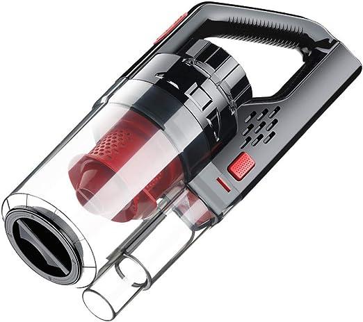 Aspiradora portátil con cable para coche, 150 W, 6000 PA, potente succión, aspirador de mano mojado/seco con bolsa de transporte y cepillo de limpieza moderno Size B: Amazon.es: Hogar