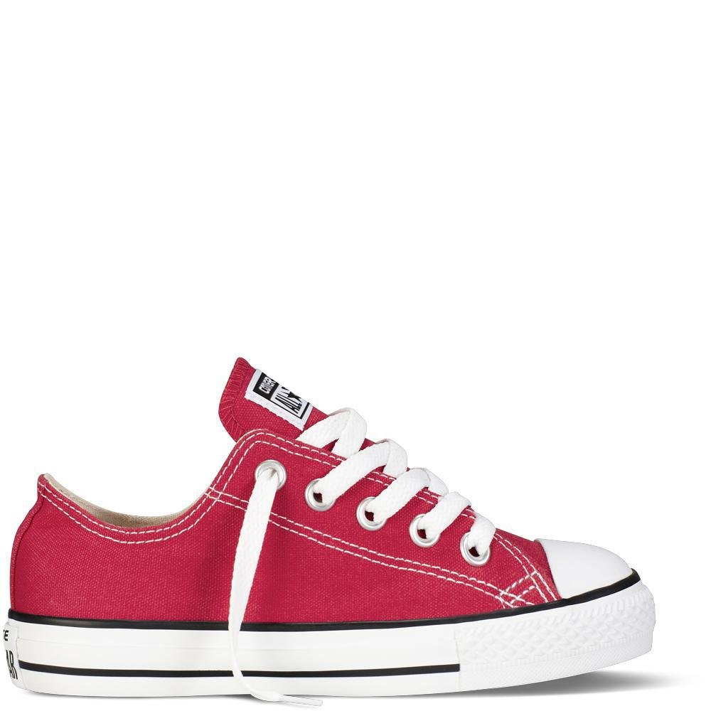 Rot (rot) Converse Unisex-Kinder CTAS-ox-Charcoal-Infant Fitnessschuhe