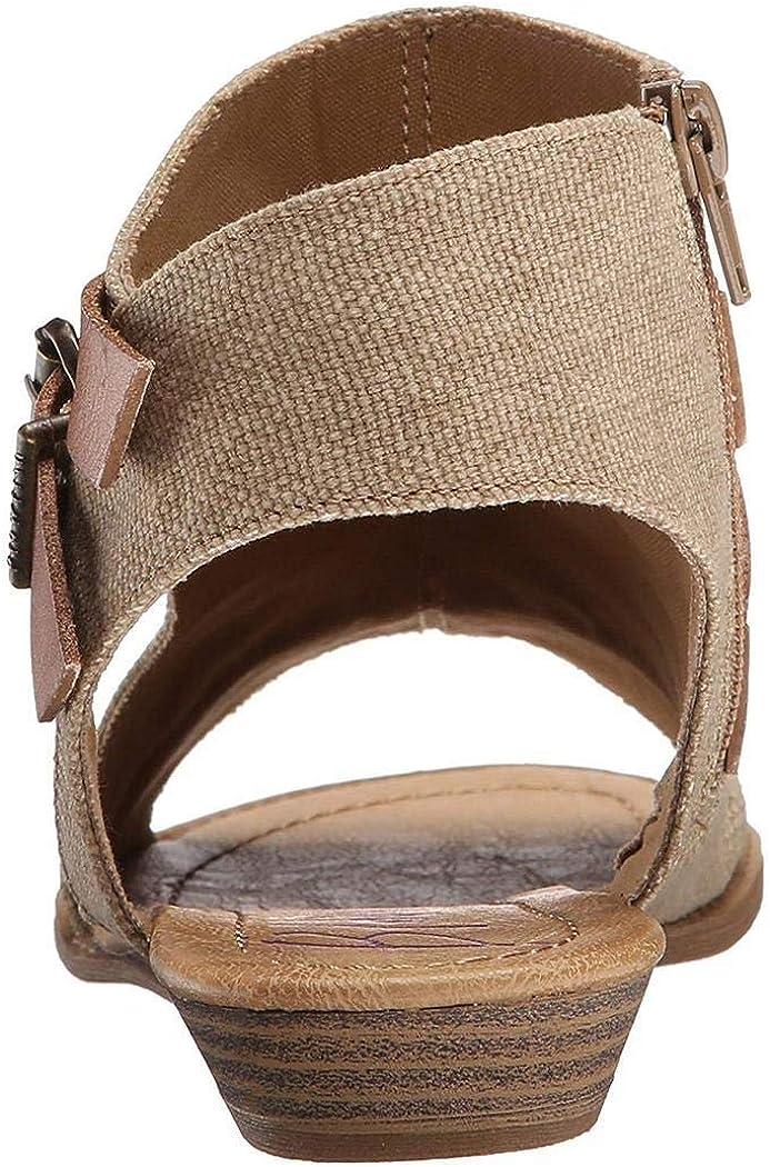 Fanala Women Flat Sandals Roman Open Toe Buckle Solid Sandal Flats