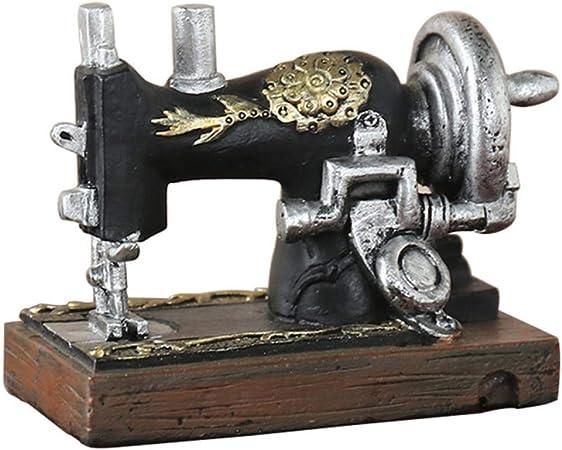 THREESS Máquina de Coser Vintage Modelo Decoración Manualidades ...