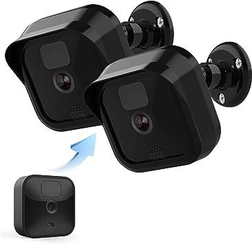 Blink Kamera Wandhalterung Wetterfeste Schutzhülle Und 360 Grad Verstellbare Halterung Für New Blink Outdoor Indoor Home Sicherheitskamerasystem New Blink Mount 2 Stück Baumarkt