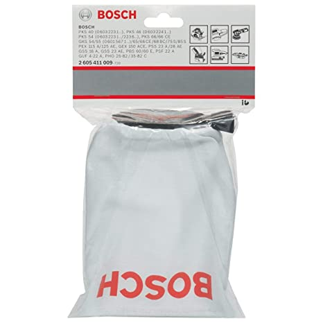 Amazon.com: Bosch 2605411009 Bolsa para polvo para Orbital ...