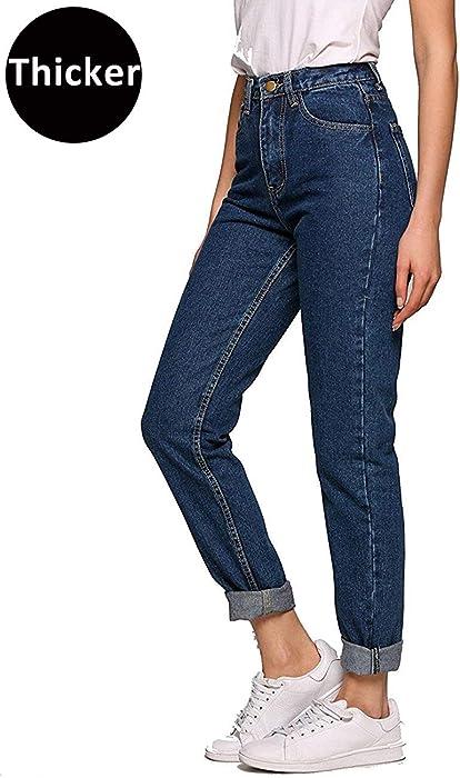 Romanstii Women s High Waist Mom Jeans 45e325b4ecb