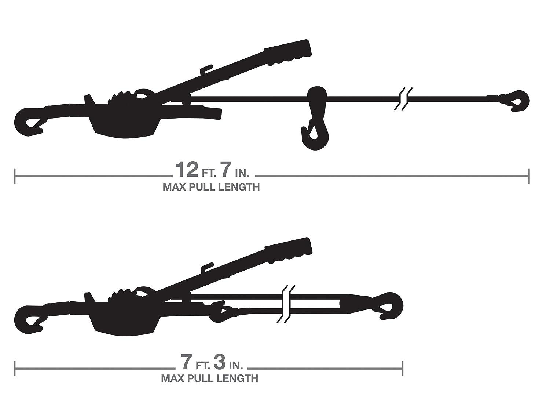 TEKTON 5547 4-Ton Dual Gear Power Puller