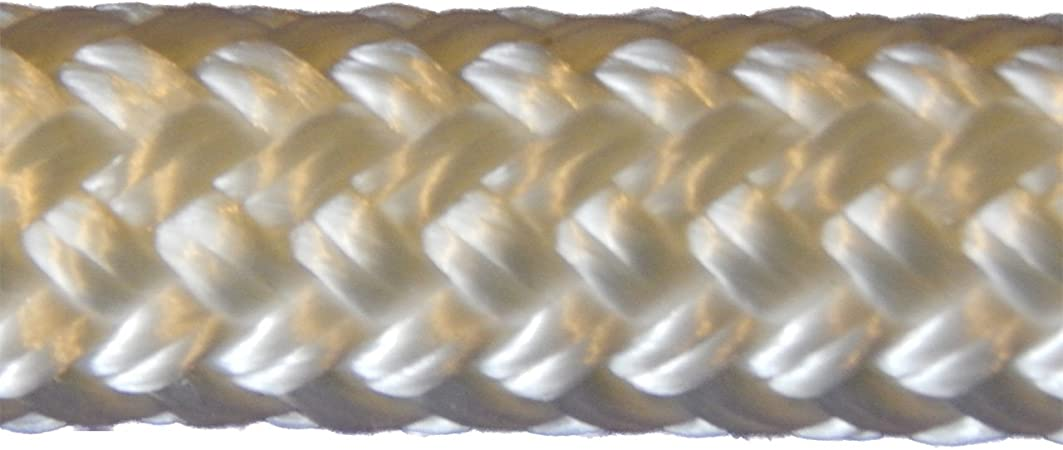 """wire pulling rope,anchor rope 1//2/"""" x 150/' doublebraid Polyester Black Made N USA"""